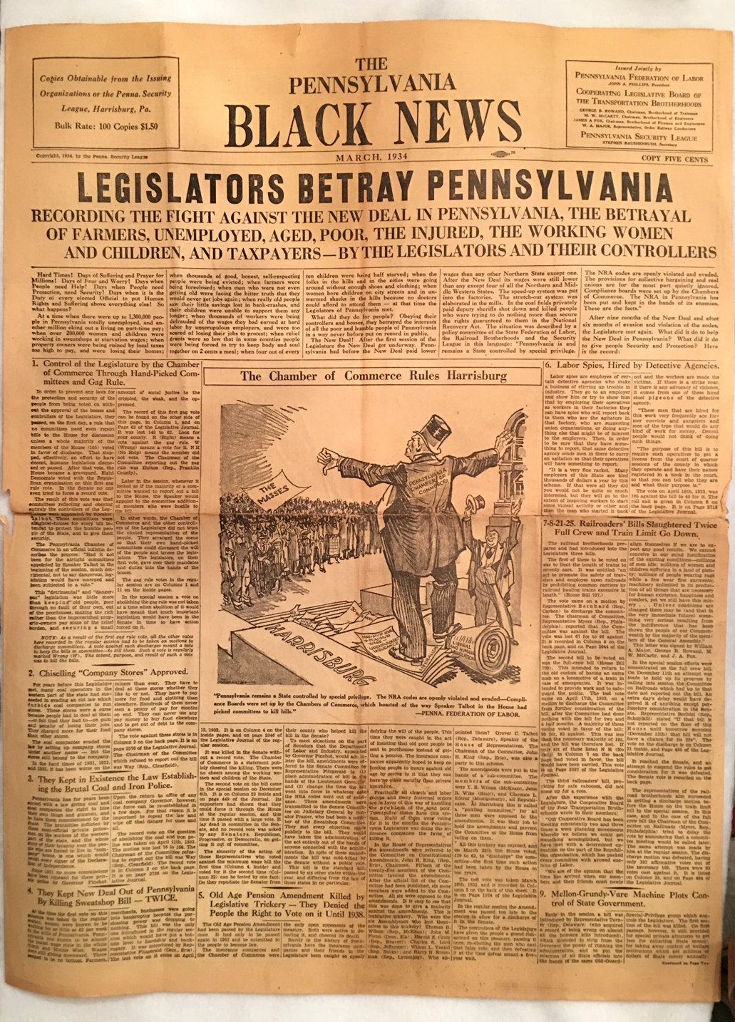 Image for The Pennsylvania Black News