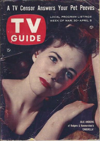 Image for TV Guide, March 30-April 5, 1957
