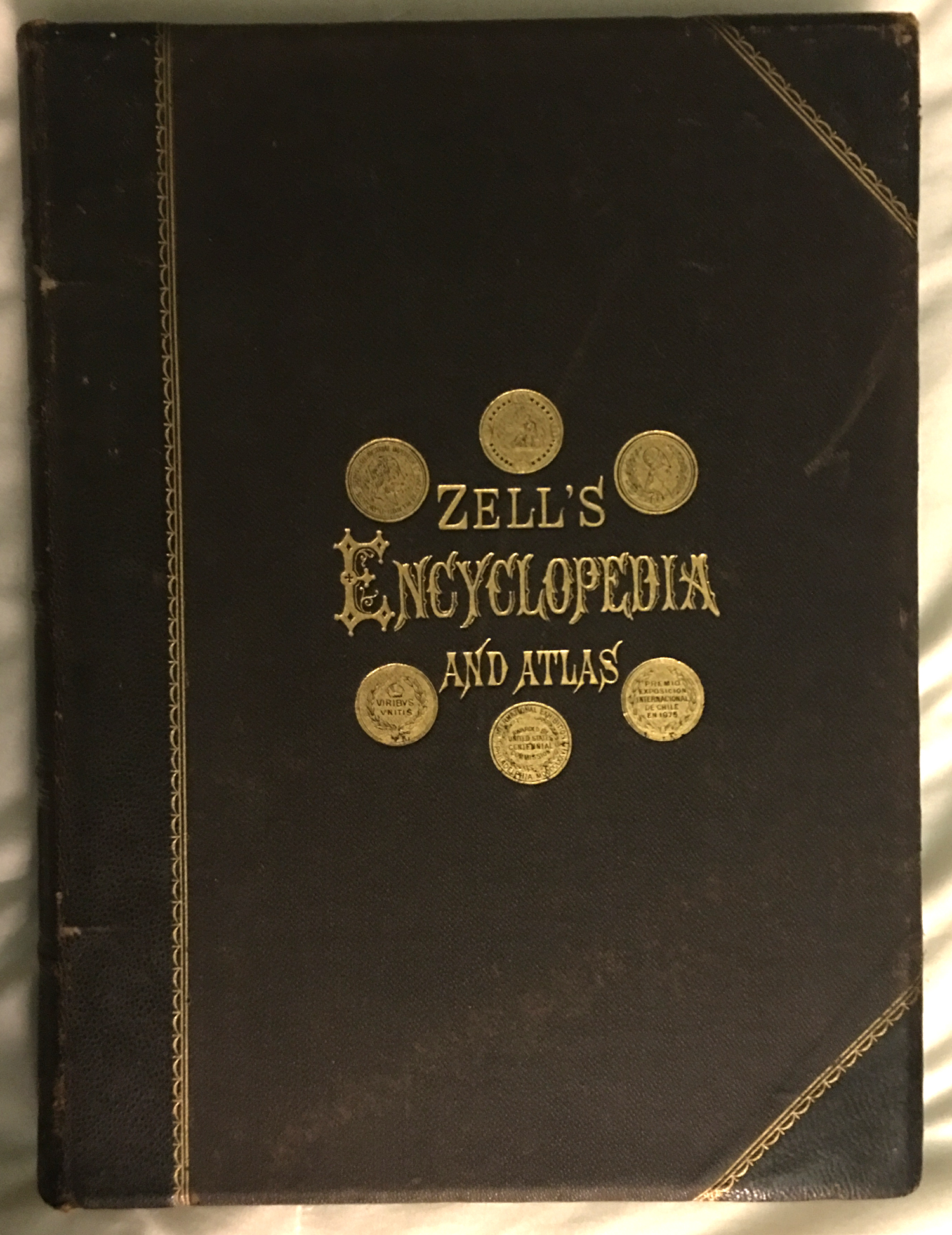 Image for Zell's Popular Encyclopedia. A Complete Dictionary of the English Language. With a Pronouncing Vocabulary and a Gazetteer of the World. Illustrated With Nearly Three Thousand Engravings and by Thirty-Five Large Colored Maps  ..., Volume III, I -- Potc
